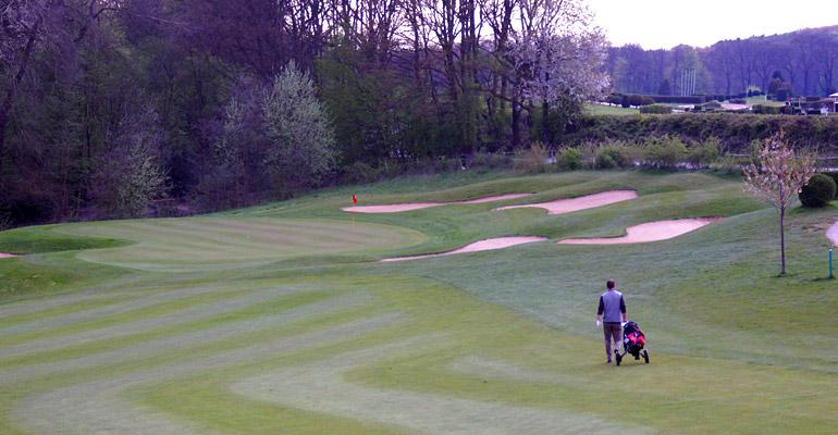 Bahn 18 - Golfplatz Düsseldorf-Grafenberg